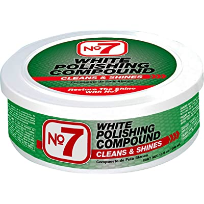 No7 White Polishing Compound, 10 fl oz: Automotive
