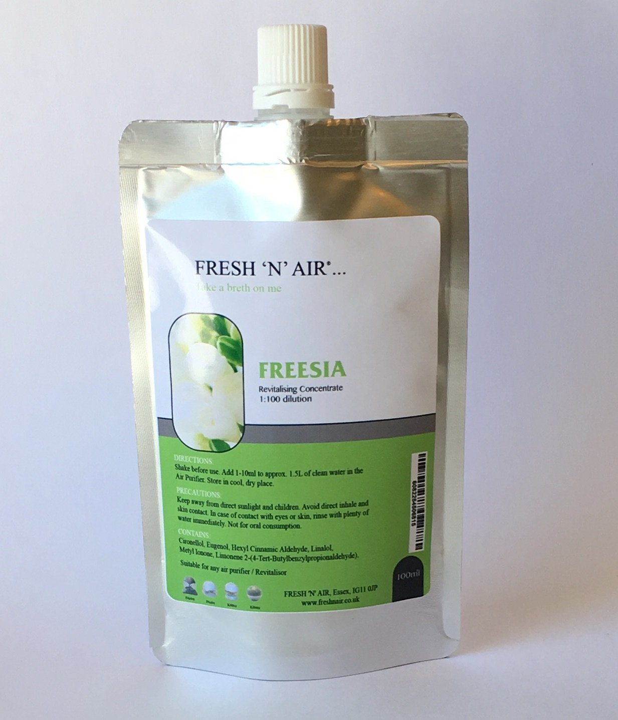 *FREESIA - Air Purifier Fragrance Essence (100ML) Fresh 'N' Air