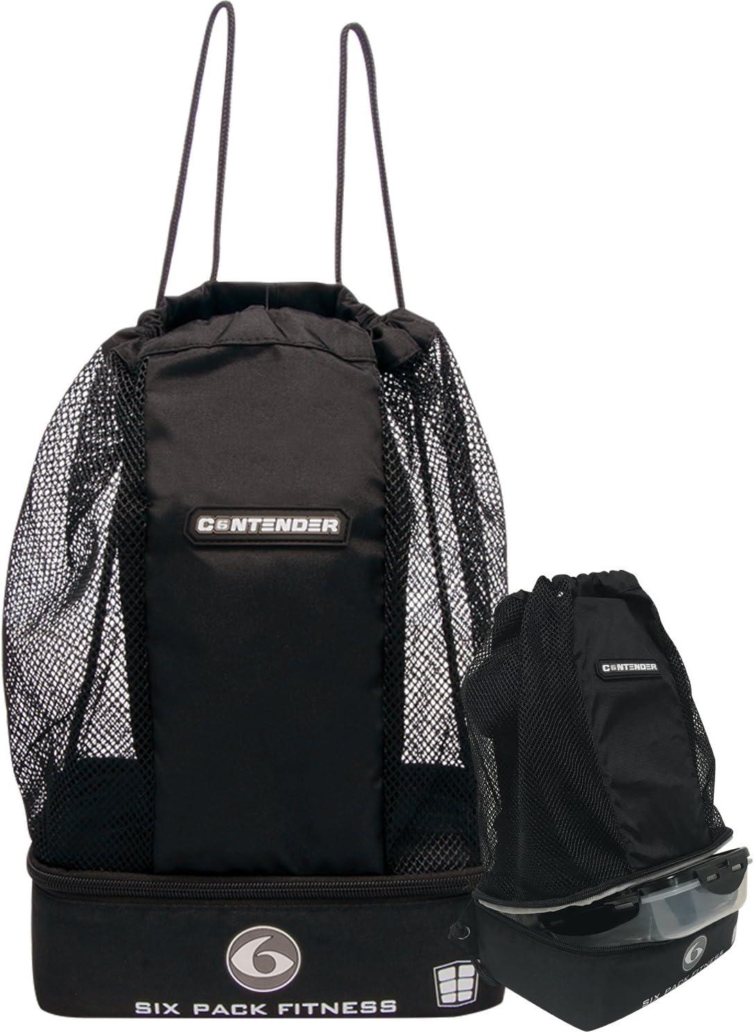 6 Pack Fitness Contender, Stealth, pequeño: Amazon.es: Deportes y aire libre