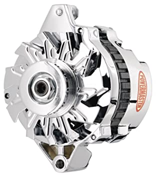 amazon com powermaster 178021 gm cs130 delco alternator 105a w v powermaster 178021 gm cs130 delco alternator 105a w v belt pulley 1 wire