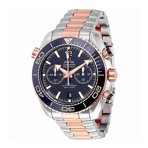 Omega Seamaster Planet Ocean 600 m oro rosa reloj para hombre 215.20.46.51.03.001: Amazon.es: Relojes