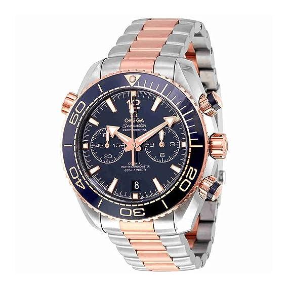 Omega Seamaster Planet Ocean 600 m oro rosa reloj para hombre 215.20.46.51.03.001
