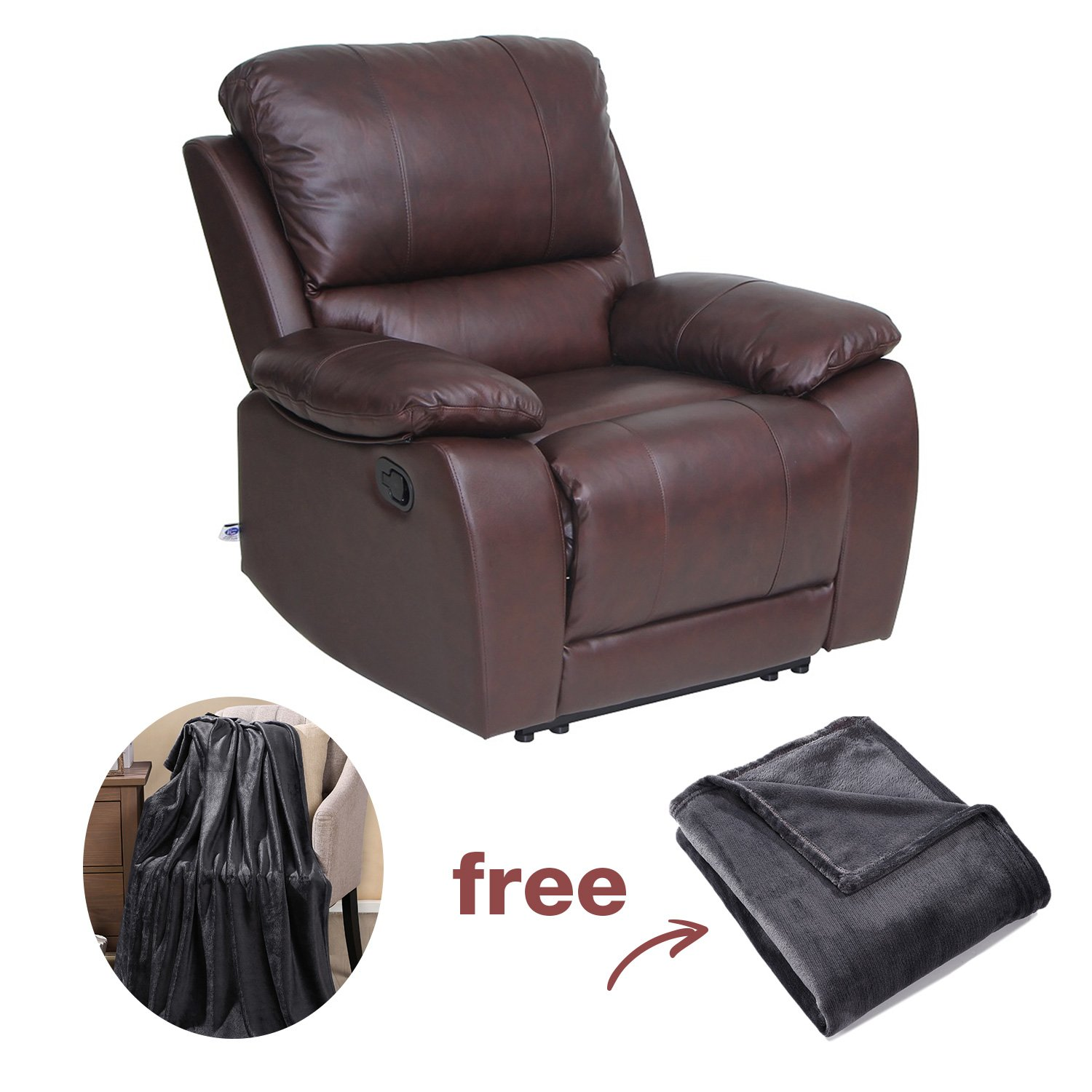 viva home top grain leather recliner chair forums cnet