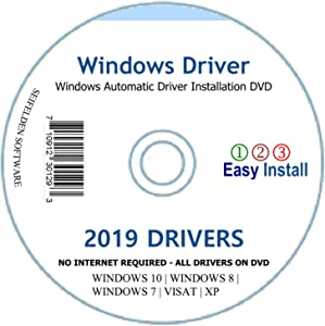 Automatic Driver Installation Recovery Disc for Windows 10, 7, Vista and XP. Supports HP Dell Gateway Toshiba Gateway Acer Sony Samsung MSI Lenovo Asus IBM Compaq eMachines ⭐⭐⭐⭐⭐