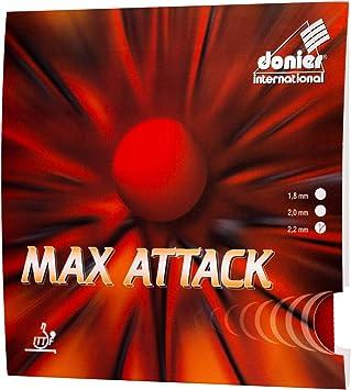 Donier Revetement De Raquette De Tennis De Table Max Attack