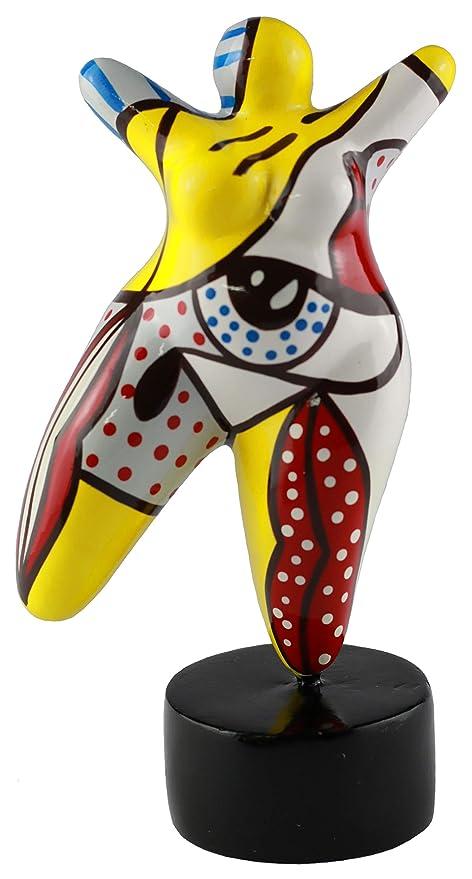 Skulptur Figur Dicke Frau Molly NANA mini Hommage an Niki de Saint Phalle