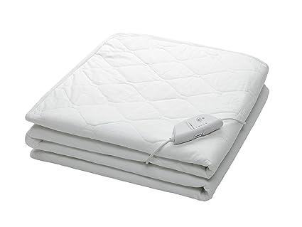 Medisana HU650 - Calientacamas ajustable con ajuste perfecto al colchón y dos zonas de calentamiento diferenciadas
