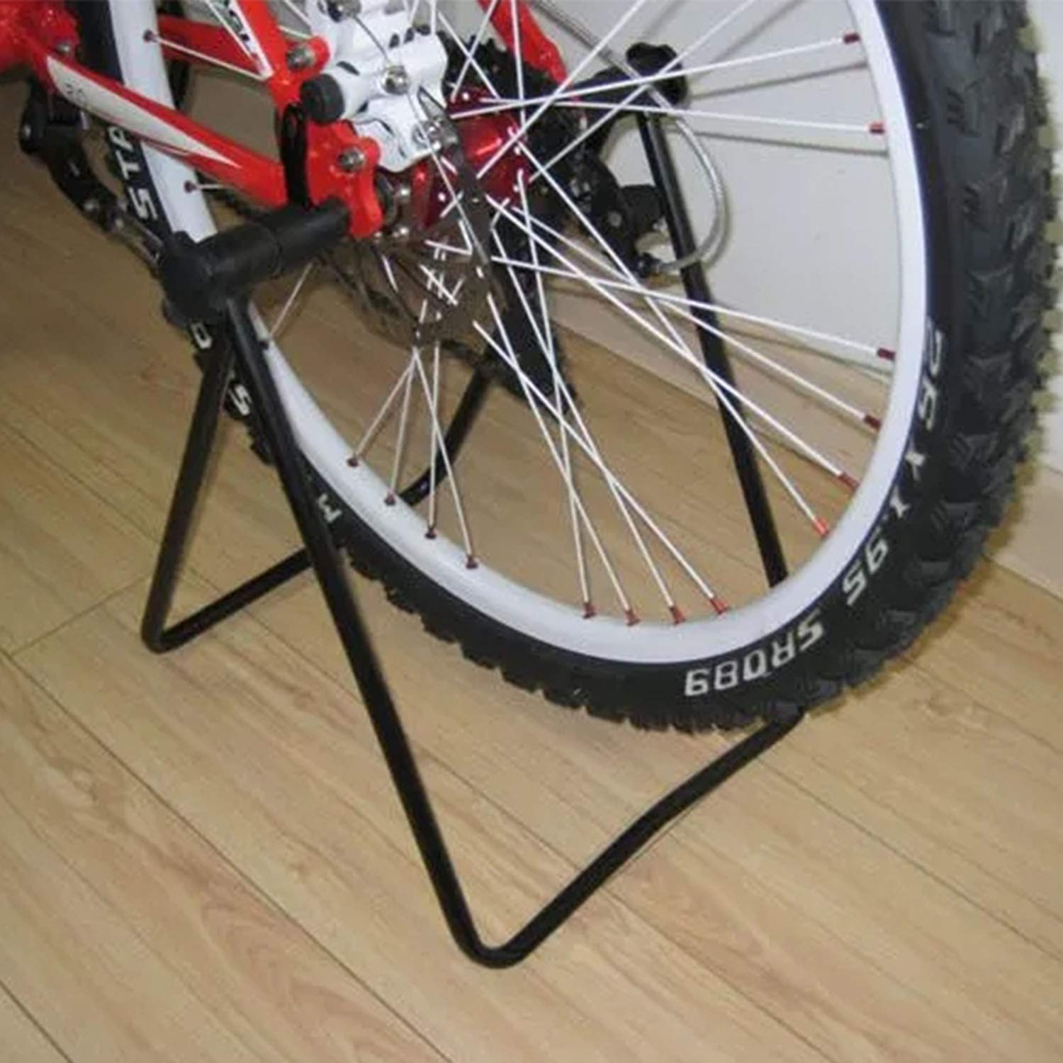 Your only family Practical U-Shaped Bicycle Parking Rack Mountain Bike Bracket Bicycle Display Stand Maintenance Rack Sample Support Frame Durable by Your only family (Image #6)
