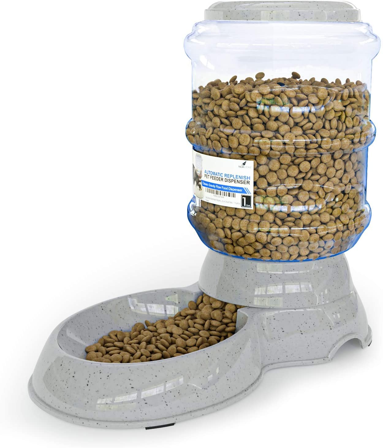 Noa Store Automatic Replenish Pet Waterer Dispenser Station for Dogs, Cats or Small Pets