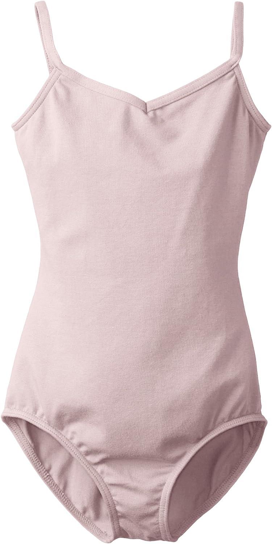 Capezio Girls' Classics V-Neck Camisole Leotard: Clothing