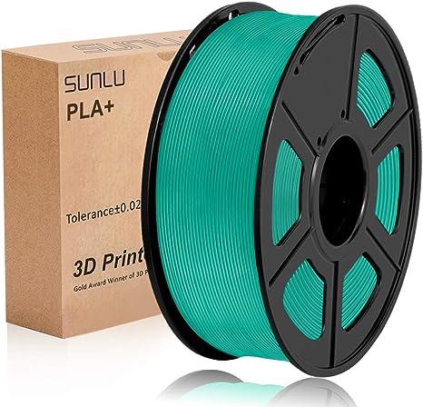 Filamento PLA Plus de la impresora SUNLU 3D, filamento PLA de 1.75 ...