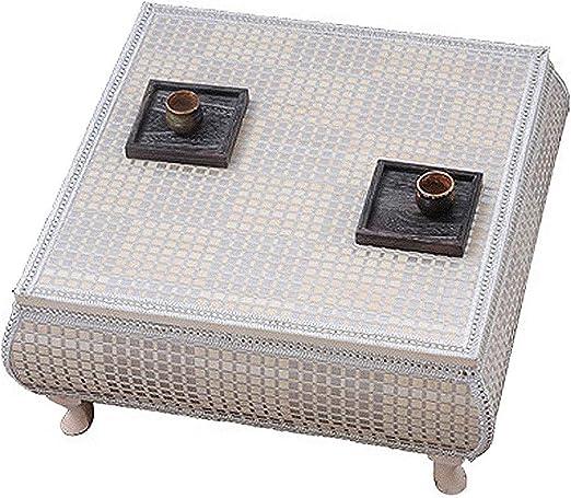 PHH - Mesa de café pequeña con Pajita para balcón, Mesa de Comedor ...