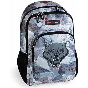 Mochila Escolar Doble Bestial Wolf by DIS2