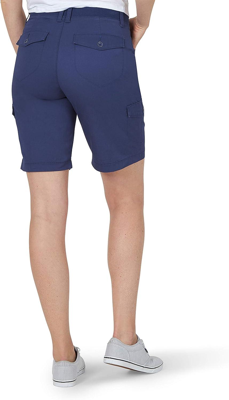 Lee Uniforms Womens Flex-to-go Cargo Bermuda Short
