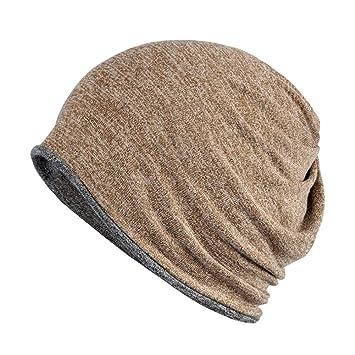 LU KU Collar Sombrero otoño e Invierno, algodón, Hombres y Mujeres ...