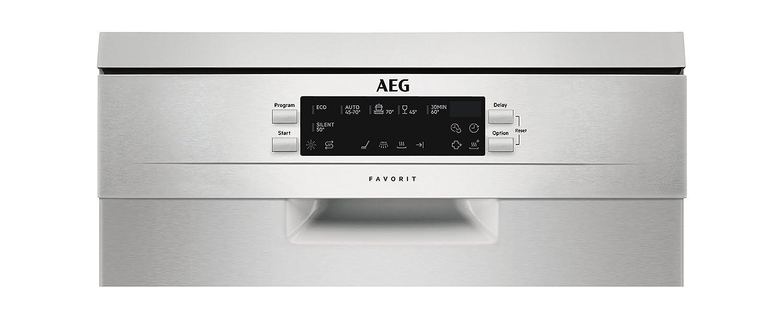 AEG FFB62400PM Independiente 9cubiertos A++ lavavajilla ...
