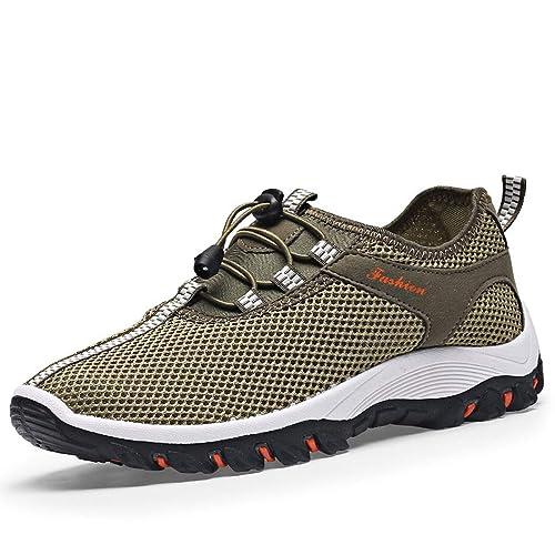 Zapatillas Running para Hombre Aire Libre y Deporte Transpirables Casual Zapatos Gimnasio Correr Sneakers CHNHIRA(