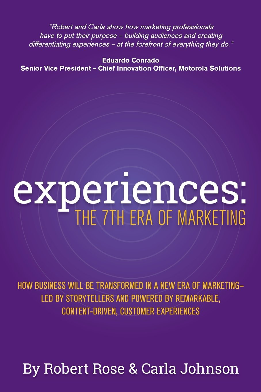 Image result for Experiences: The 7th Era of Marketing