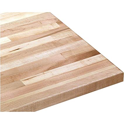 Butcher Block Workbench >> Grizzly G9912 Solid Maple Workbench Top