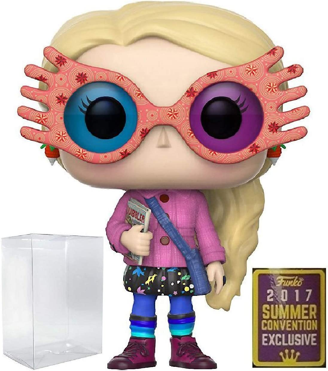 Amazon Com Harry Potter Luna Lovegood With Glasses Funko Pop Sdcc 2017 Summer Convention Exclusive Vinyl Figure Includes Compatible Pop Box Protector Case Toys Games Hand engraved harry potter inspired set of 4 house crest shot glasses, available individually and name can be. harry potter luna lovegood with glasses funko pop sdcc 2017 summer convention exclusive vinyl figure includes compatible pop box protector case