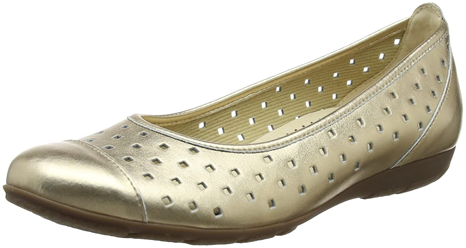 Gabor B000LEQMF2 Shoes Gabor Femme Casual, Ballerines Casual, Femme Multicolore (Champagner) c19f479 - fast-weightloss-diet.space