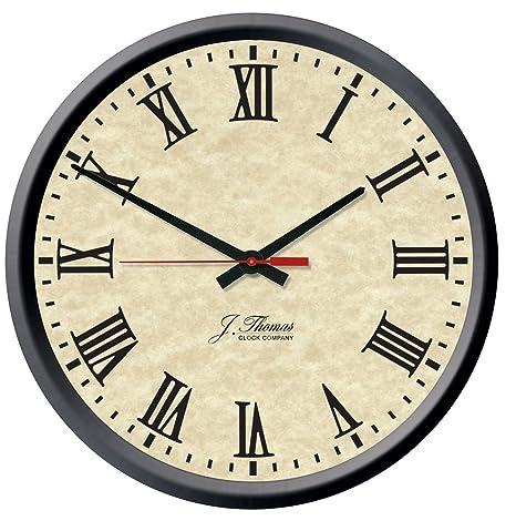 J. Thomas Tesla Electric Wall Clock 13\