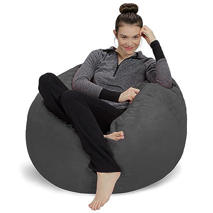 Sofa Sack   Plush, Ultra Soft Bean Bag Chair   Memory Foam Bean Bag Chair