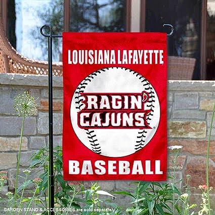 Louisiana Lafayette Ragin Cajuns Baseball Garden Flag and Yard Banner