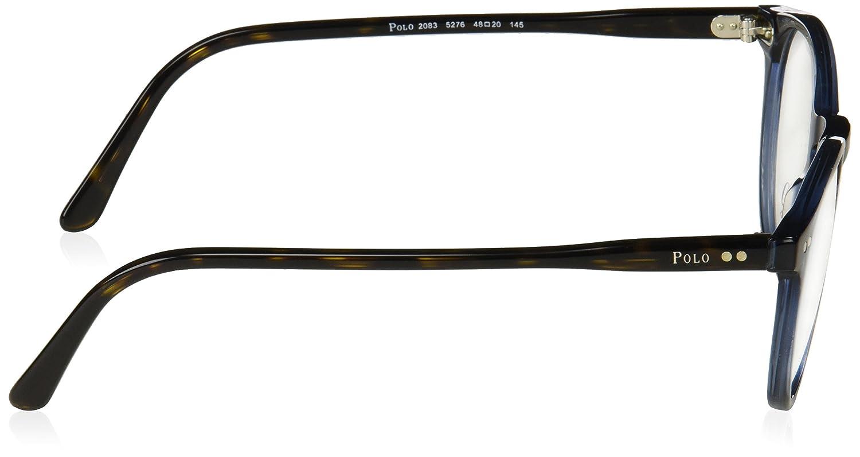 5de82291ff5 Eyeglasses Polo PH 2083 5276 BLUE TRANSPARENT at Amazon Men s Clothing store