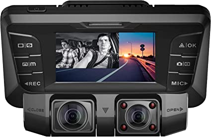 720P Built in 6 Infrared LEDs Infrared Mode Records /& Auto Saves Photos//Night Vision//Loop Recording /& SD Card Slot 4332973426 DVR Car Dash Camera GPCT Hidden Spy Camera Motion Detector Rotatable 30FPS
