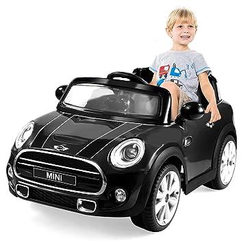 Amazon Costzon Ride On Car Licensed Bmw Mini Cooper Electric