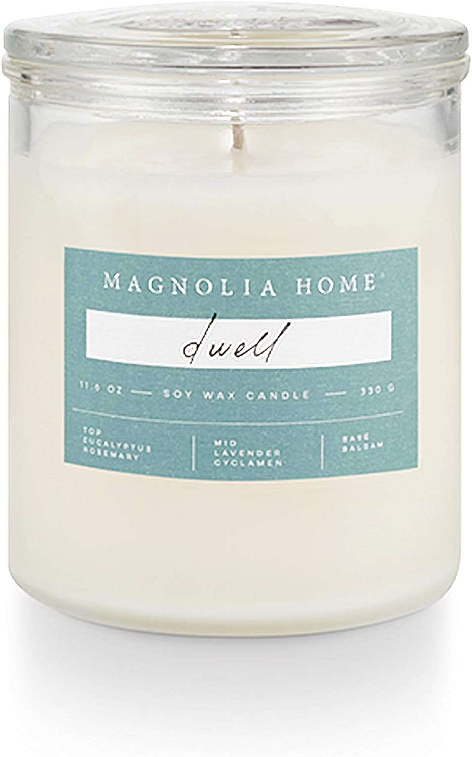 Magnolia Home Dwell Lidded-Glass Candle Home Decor By Joanna Gaines