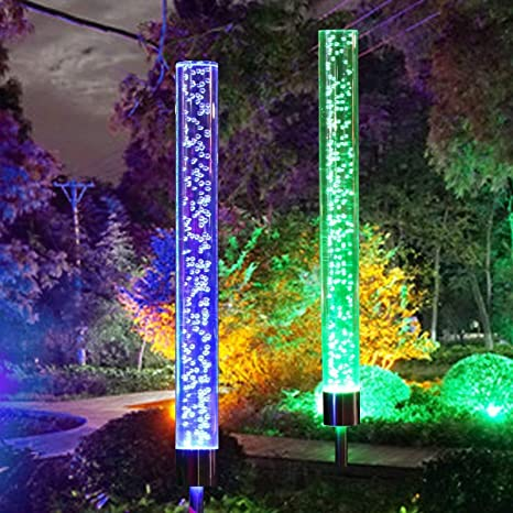 Color Changing Solar Landscape Lights