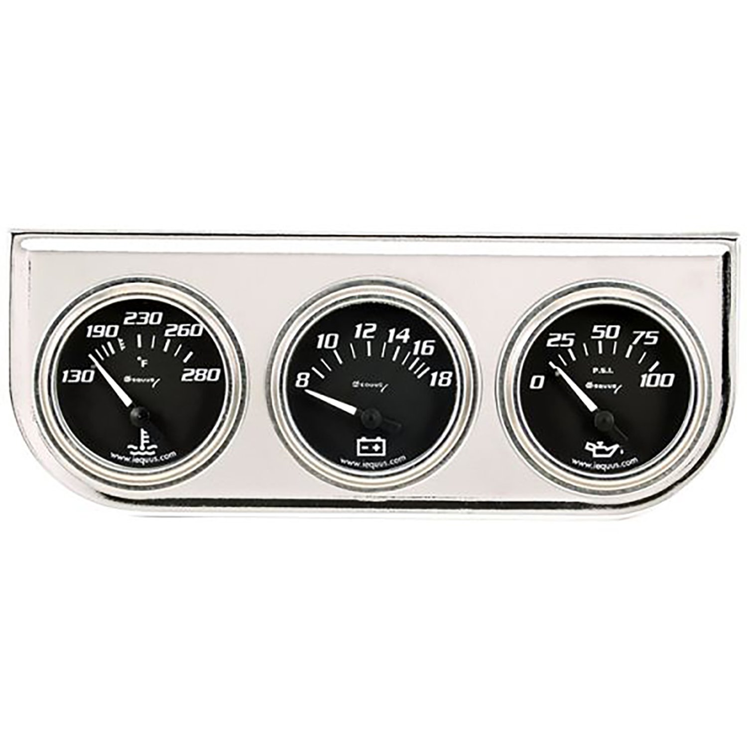 Equus 7200 Triple Gauge Kit