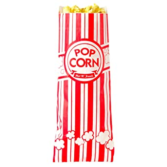 Amazon.com: Carnival King - Bolsas de palomitas de 2.8 lbs ...
