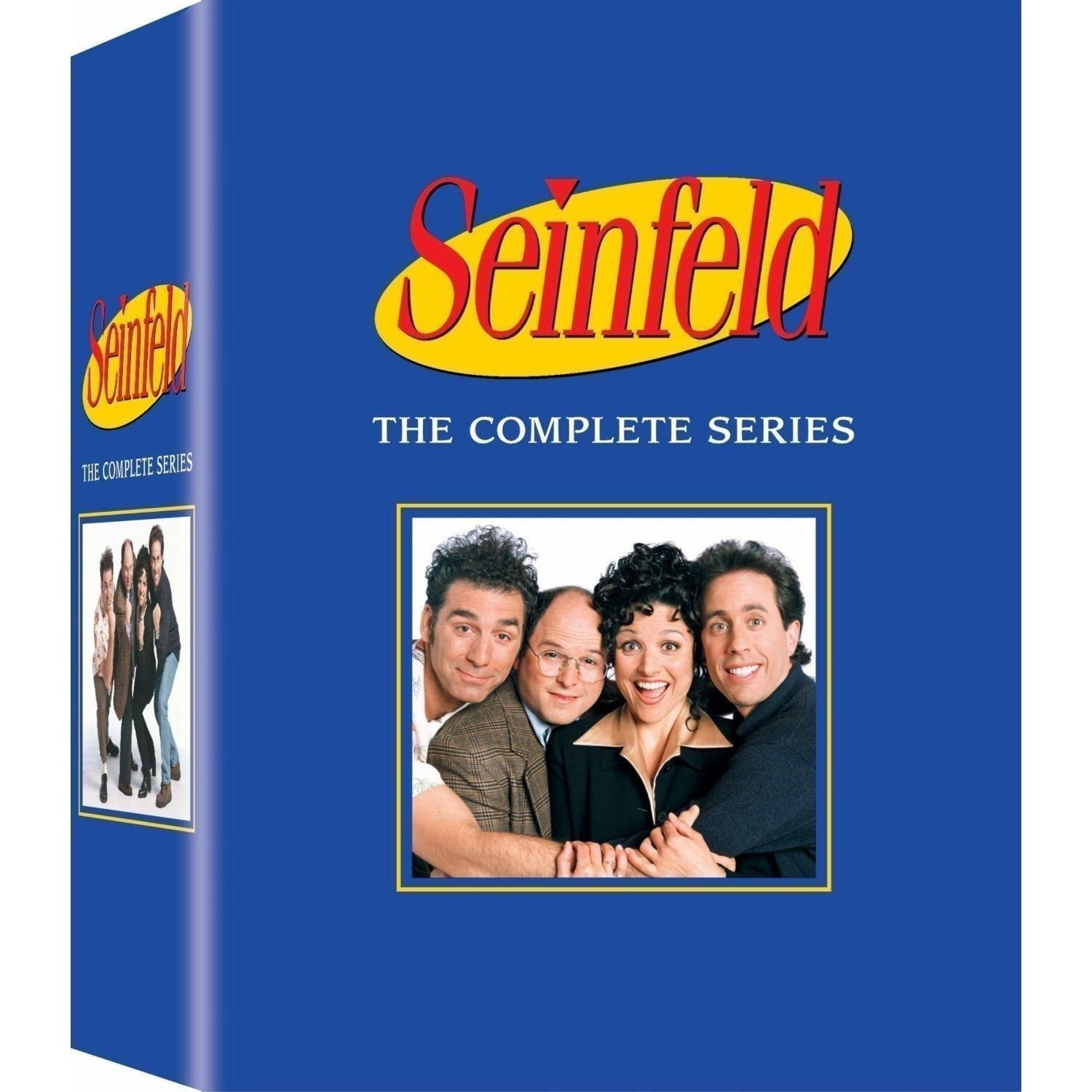 Seinfeld: The Complete Series Box Set (DVD 33 Discs) 180 Episodes Jerry