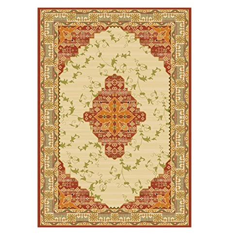 Amazon.com: MIAORUIQIN JIN PING Hermosa alfombra europea ...