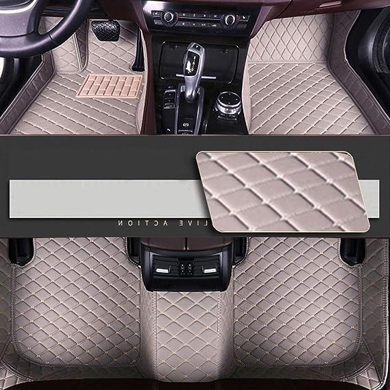 8x Speed Auto Fussmatten For Bmw 1 Series F20 F21 2 Türer 2012 2018 Auto Schutzdecke Volle Abdeckung Autoteppiche Hochwertiges Pu Leder Wasserdichte Gray Auto
