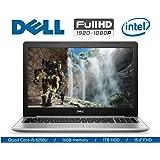 """2018 Flagship Dell Inspiron Laptop, FHD IPS 15.6"""" Touchscreen, Intel Quad-Core i5-8250U (Beat i7-7500U), 16GB DDR4, 1TB HDD, DVDRW, Backlit Keyboard, WIFI, Bluetooth, Webcam, Windows 10"""