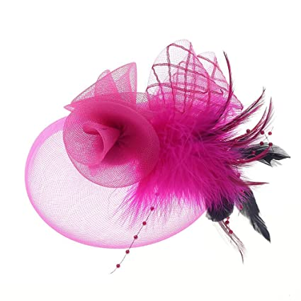 Fascinator Hats Tea Party Hats Mesh Net Head Accessories for Women   Amazon.ca  Home   Kitchen e504df23a53