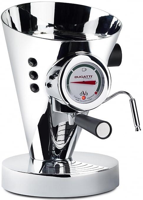 Casa Bugatti Cafetera 15-DIVACR Cromo, 950 W, 0.8 litros