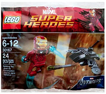 LEGO Super Heroes: Iron Man vs Fighting Drone Establecer 30167 ...