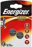 Energizer 638708 Spezialbatterie (CR2025 Lithium 3,0Volt 2er-Packung)