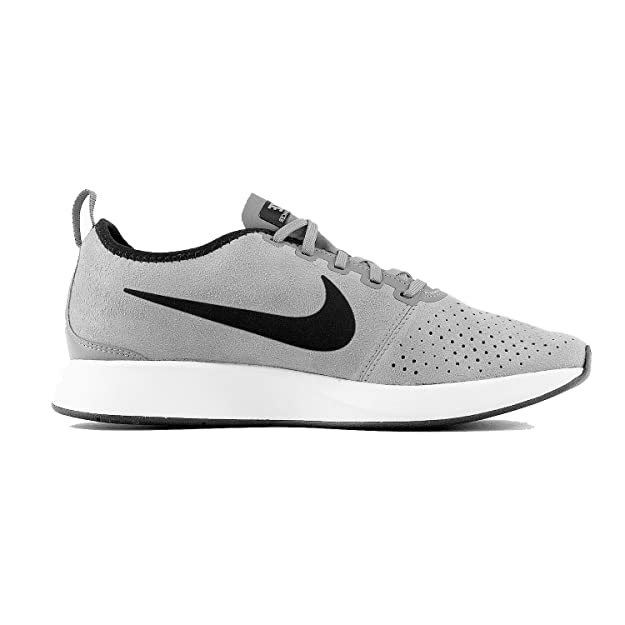 Nike Men's Dualtone Racer Prm Grey/White 924448 001 by Nike