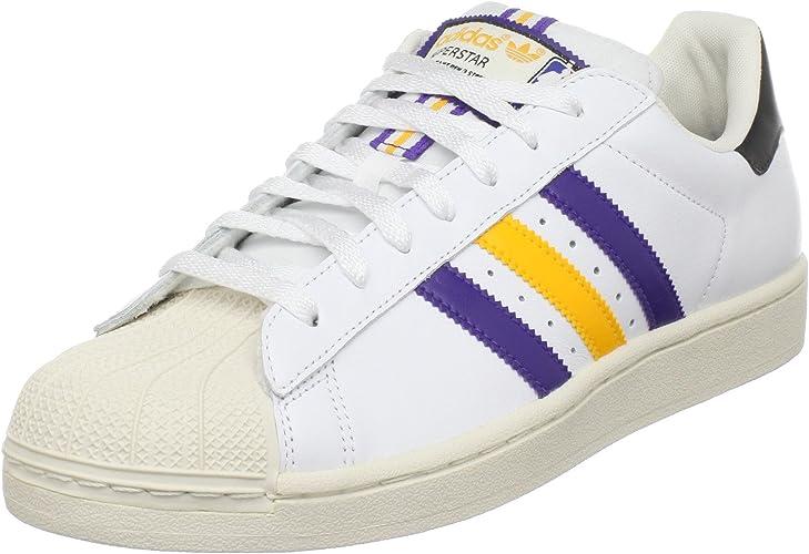 adidas Superstar NBA L A Lakers UK Size