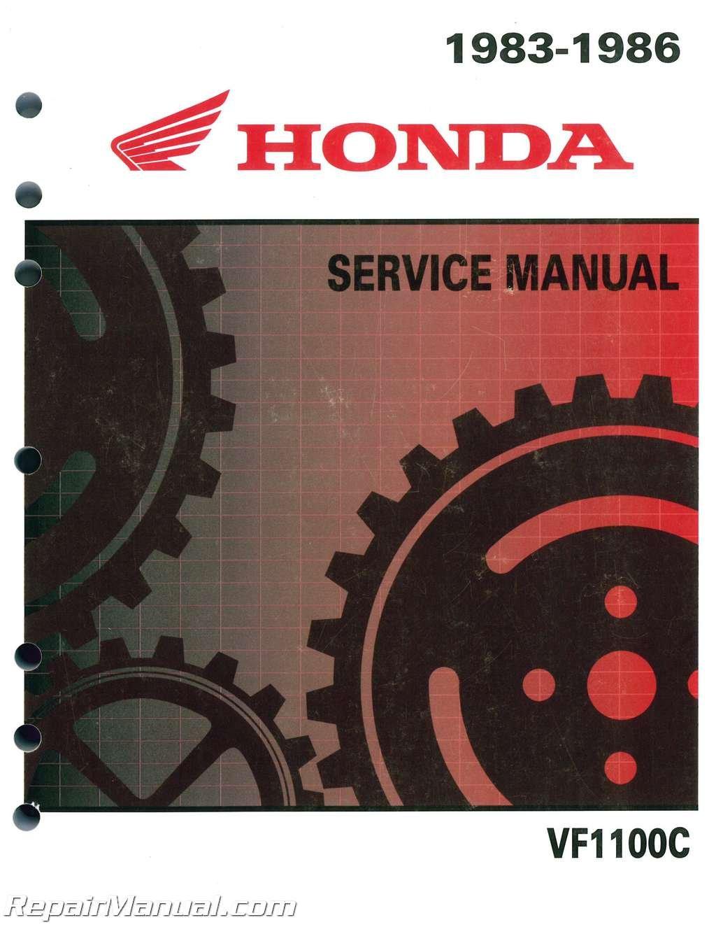61MB403 VF1100C Magna V65 Honda Motorcycle Service Manual 1983-1986:  Manufacturer: Amazon.com: Books