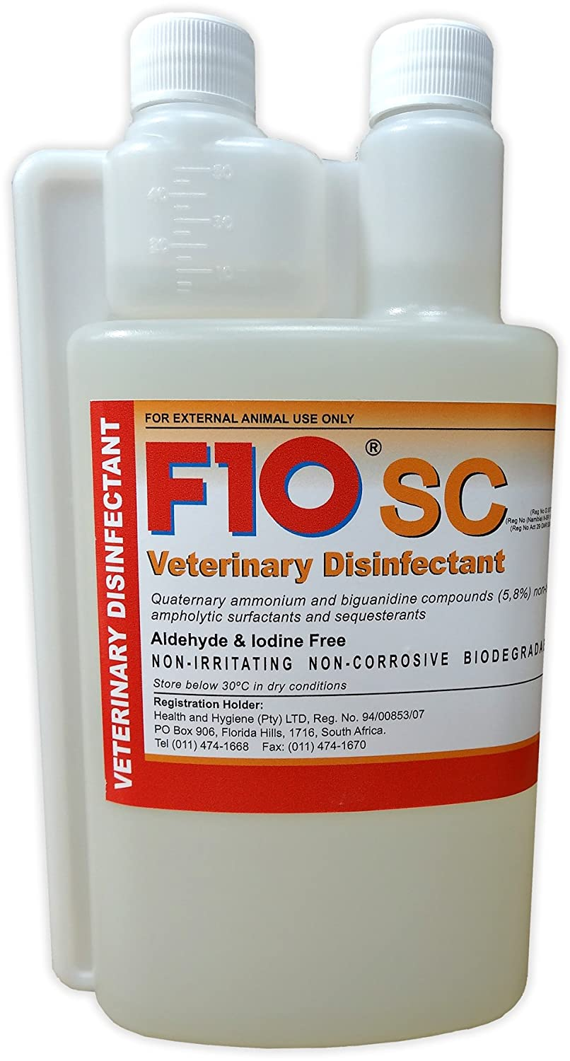 F10 SC Disinfectant 100ml Concentrated Solution