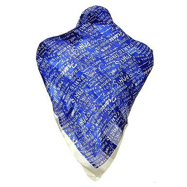 Souvenirs de France - Foulard Femme Paris France - Bleu  Amazon.fr ... 430af7df366