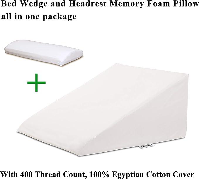 Amazon.com: InteVision - Almohada de espuma para cama de ...