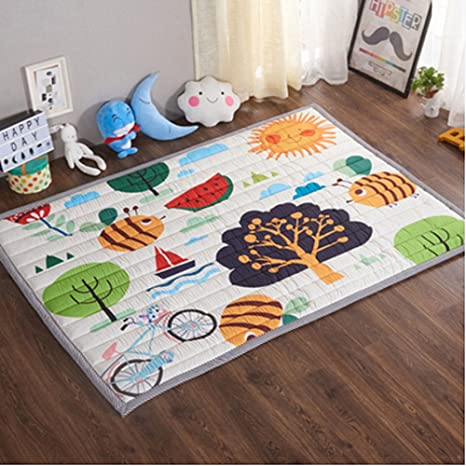 Non-Toxic Non-Slip Reversible... Baby Care Play Mat Foam Floor Gym